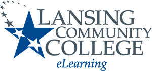 Lansing Community College eLearning Logo