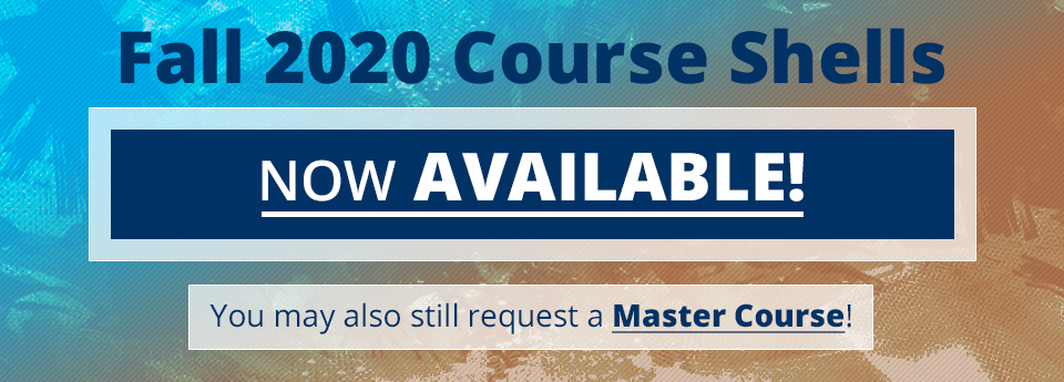 Request a master course.