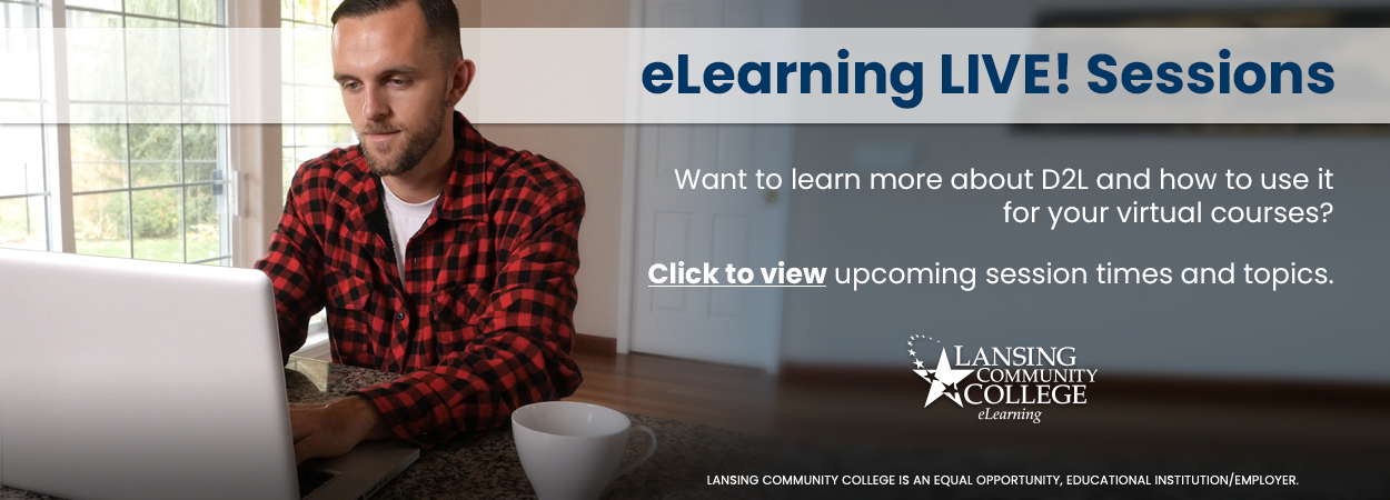 View upcoming eLearning LIVE! Sessions
