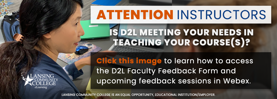 Learn how to report D2L feedback.