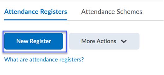New Register button.
