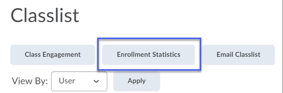 Select the Enrollment Statistics button.