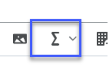 Select the Graphical Equation icon.