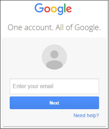 Login using your LCC Gmail account, if needed.