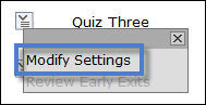 Modify Settings in LockDown Browser.