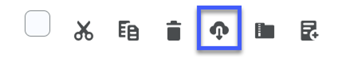 Select the download icon.