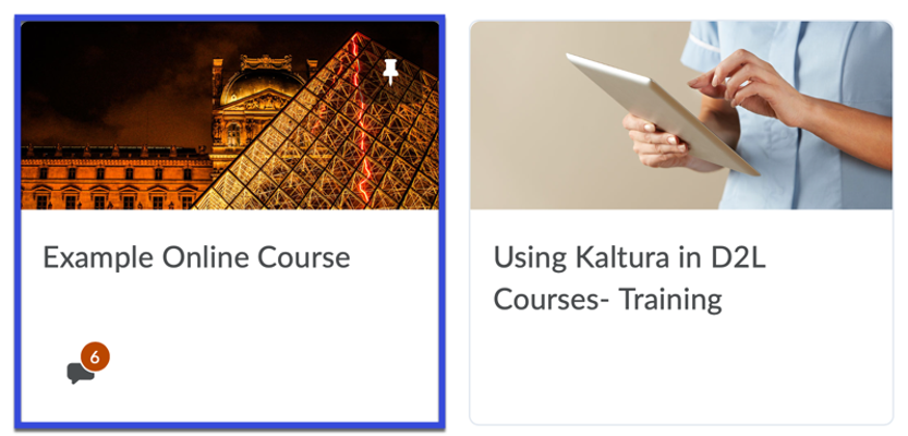 Select the course you wish to edit.