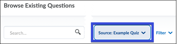 Select the Source Collection Menu.