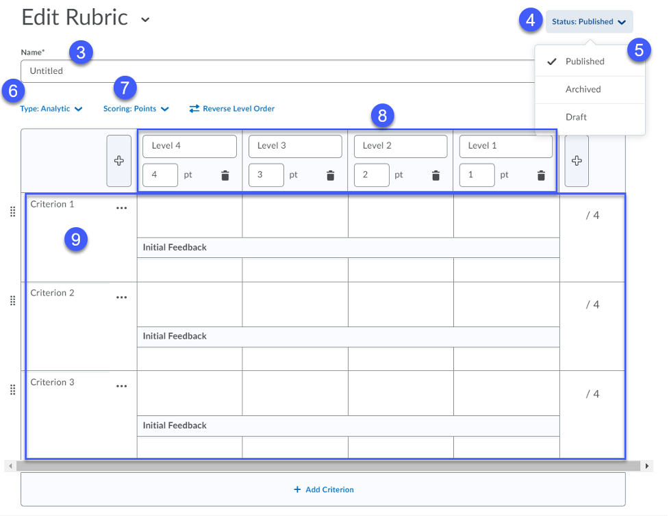 Overview of Creating Rubrics.