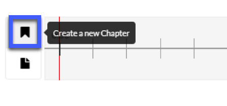 Select the Create a new chapter icon.