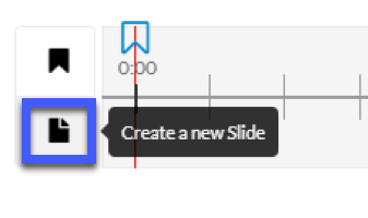 Select Create a new slide.