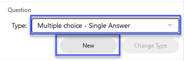Select the Add A Question button.