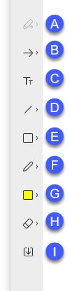 Annotation Toolbar.